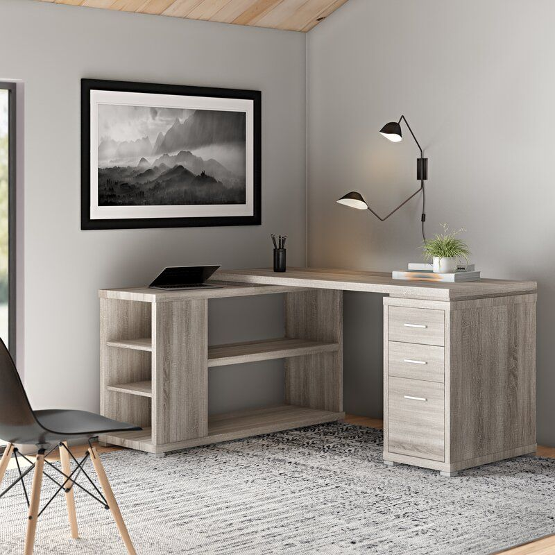 Pin By Sierra Pigg On Office L Shaped Desk Desk Layout Home Office Design