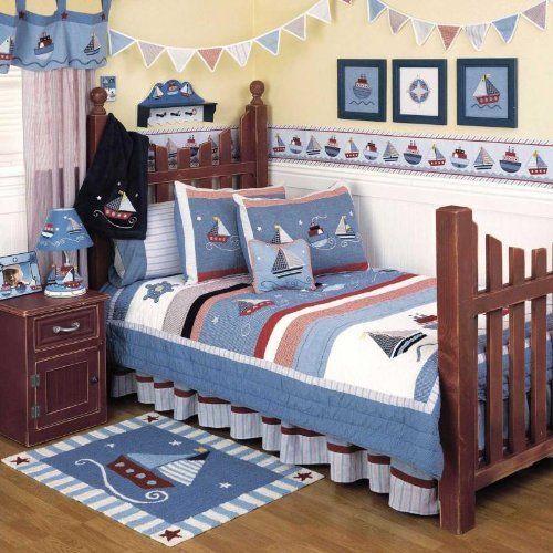 Sailing Away 3 Piece Twin Bedding Set by Kidsline by KidsLine. $79.95