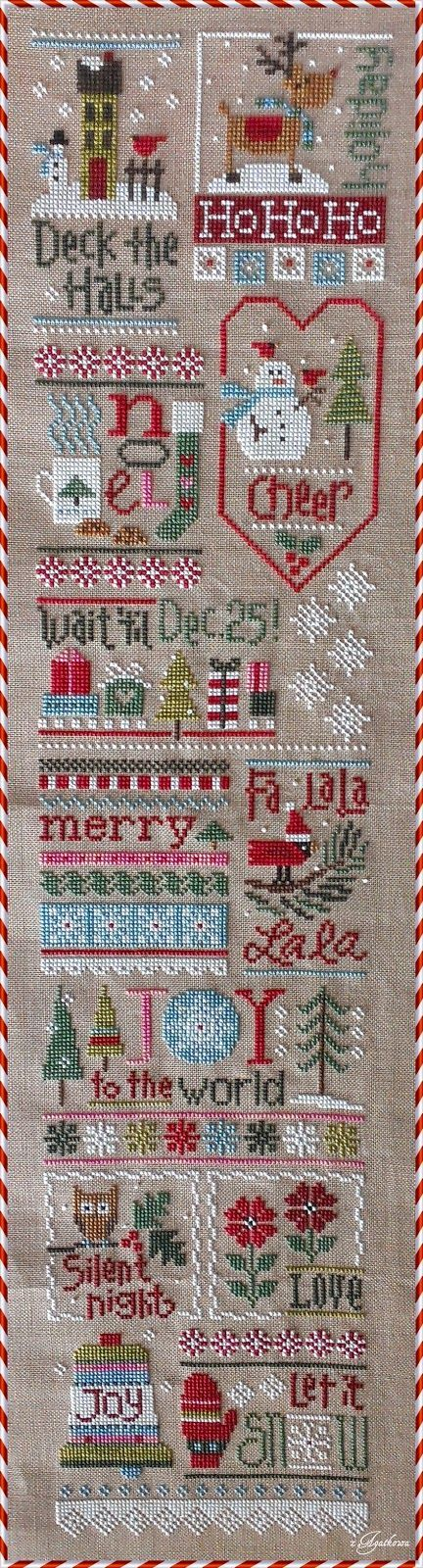 Free Christmas Cross Stitch Patterns Google Search Cross Stitch Patterns Christmas Cross Stitch Patterns Cross Stitch Samplers