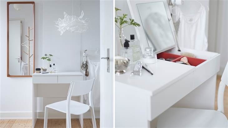 5 New Ikea Products That Might Actually Be Worth The Trip Ikea Vanity Brimnes Dressing Table Home Goods Store