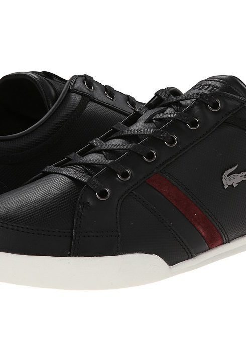 d69bd9e4eecddd Lacoste Rayford 7 (Black) Men s Lace up casual Shoes - Lacoste ...