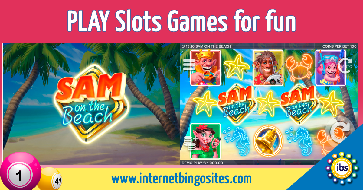 Sam on the Beach Slot Review Games for fun, Play slots