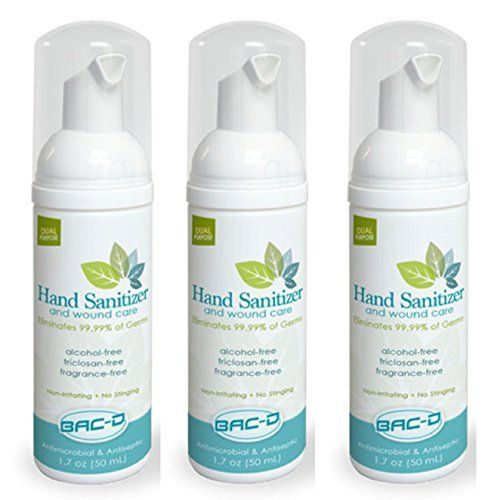 Save On Bac D 607 Alcohol Free Hand Sanitizer And Wound Care 1 7