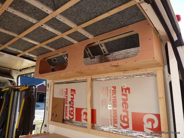 Ram Promaster Rv Camper Van Conversion Walls Ceiling And