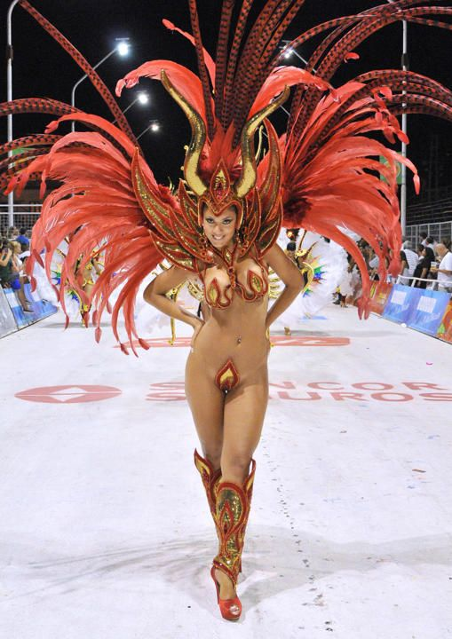 Musas Y Diosas Del Carnaval De Rio De Janeiro Brasil 2014 With