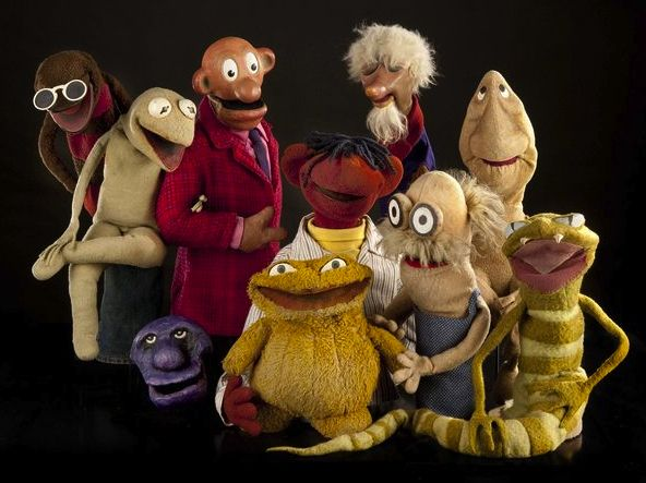Sam & Friends - proto-muppets