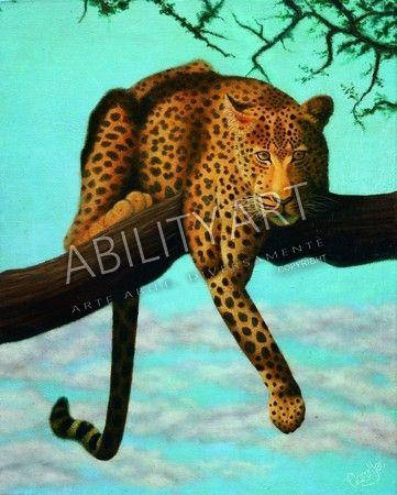 Aaron YEO KWOK CHIAN è originario di Singapore. Ha creato l'opera 'Leopardo' con l'utilizzo esclusivo della bocca. La tecnica utilizzata è quella ad olio, ed il formato originale è 51x41 cm.  https://www.abilityart.it/pronto-a-balzare.html