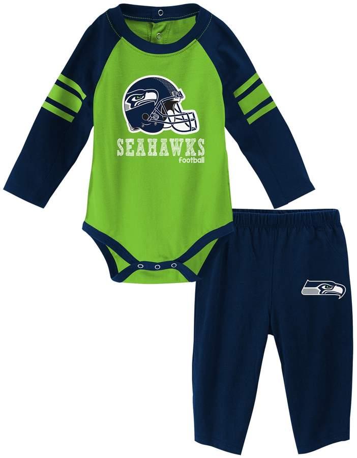 3798098d Baby Seattle Seahawks Future Starter Bodysuit & Pants Set | Products ...