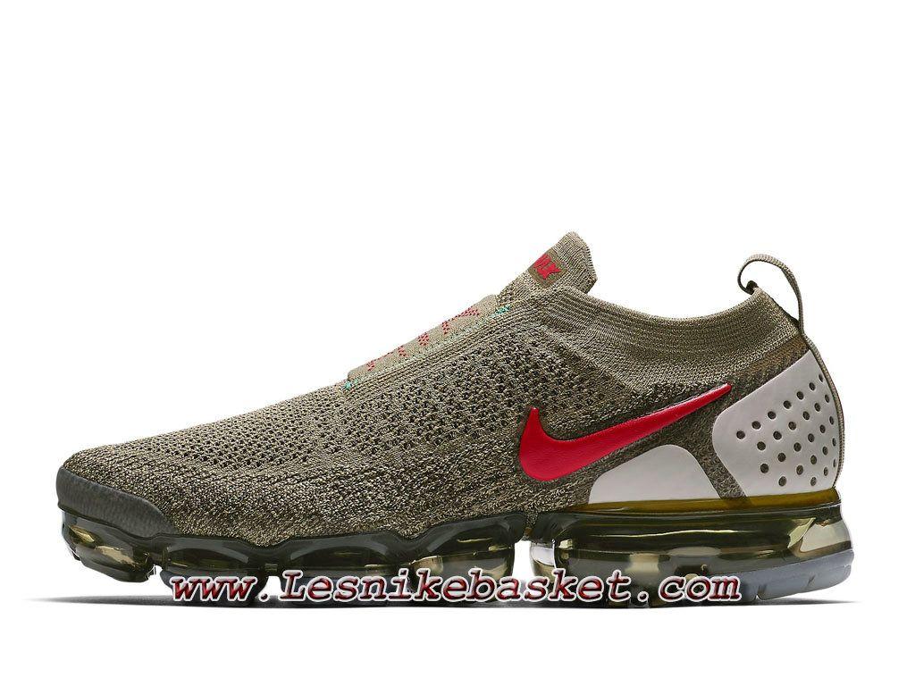 huge discount 144b8 0bed5 Nike Air VaporMax Flyknit Moc 2 Neutral Olive AH7006 200 Chaussures Officiel  Prix Pour Homme-1806213863 - Les Nike Sneaker Officiel site En France