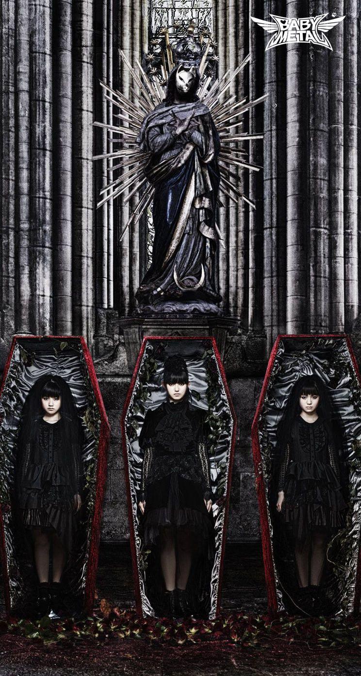 Iphone Wallpaper Babymetal Iphone壁紙 Goth Music Japanese Pop Metal Bands