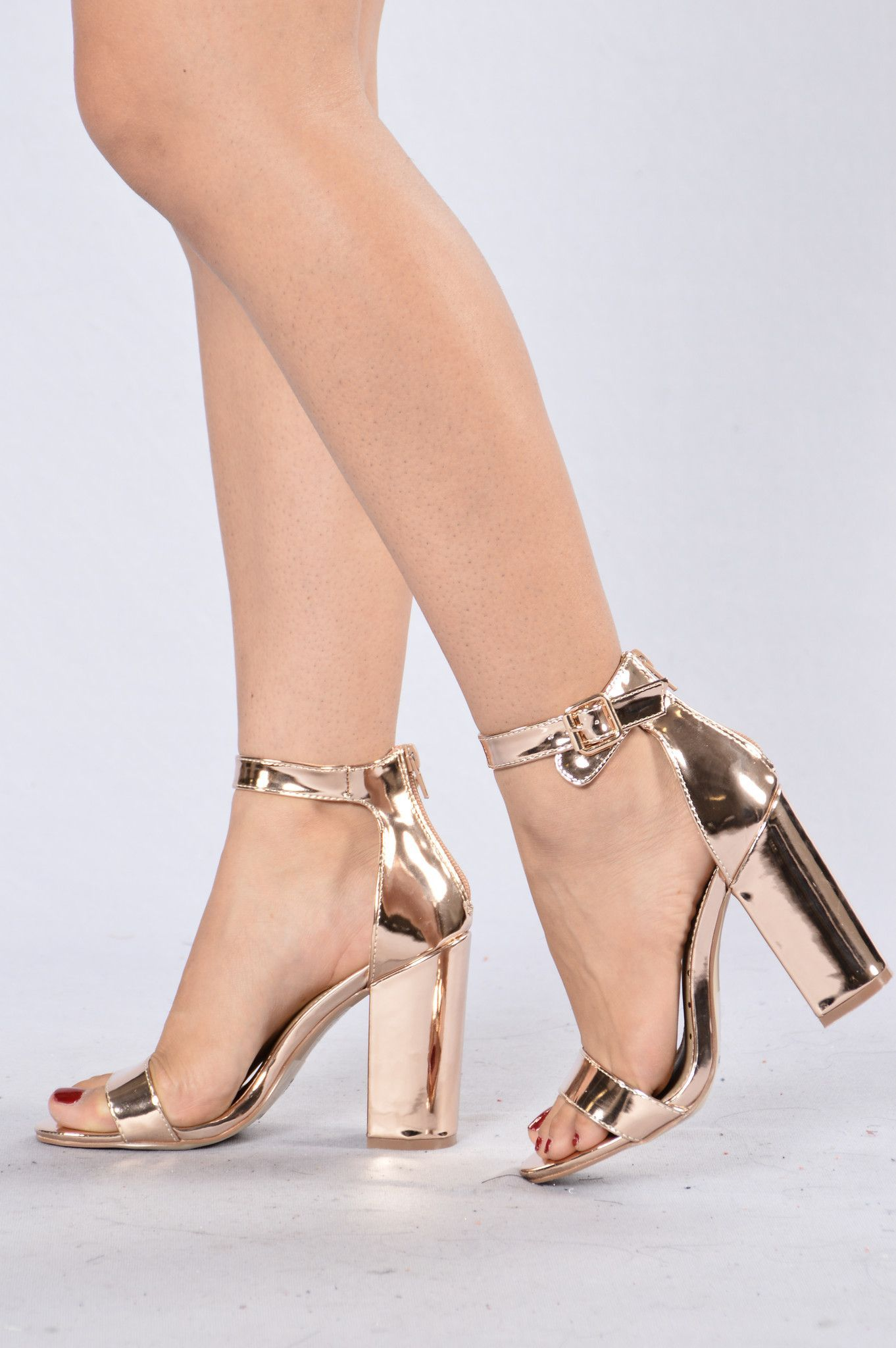 c493fc7877c9 Estella Heel - Rose Gold More