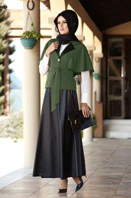 Alvina Online Alisveris Tesettur Giyim Esarp Kaban Kap Etek Ceket Tunik Pantalon Elbise Manto Pardesu Musluman Modasi Giyim Islami Moda
