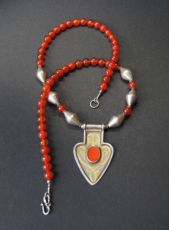 Turkmen asyk pendant and carnelian necklace carnelian pendants turkmen asyk pendant and carnelian necklace mozeypictures Gallery