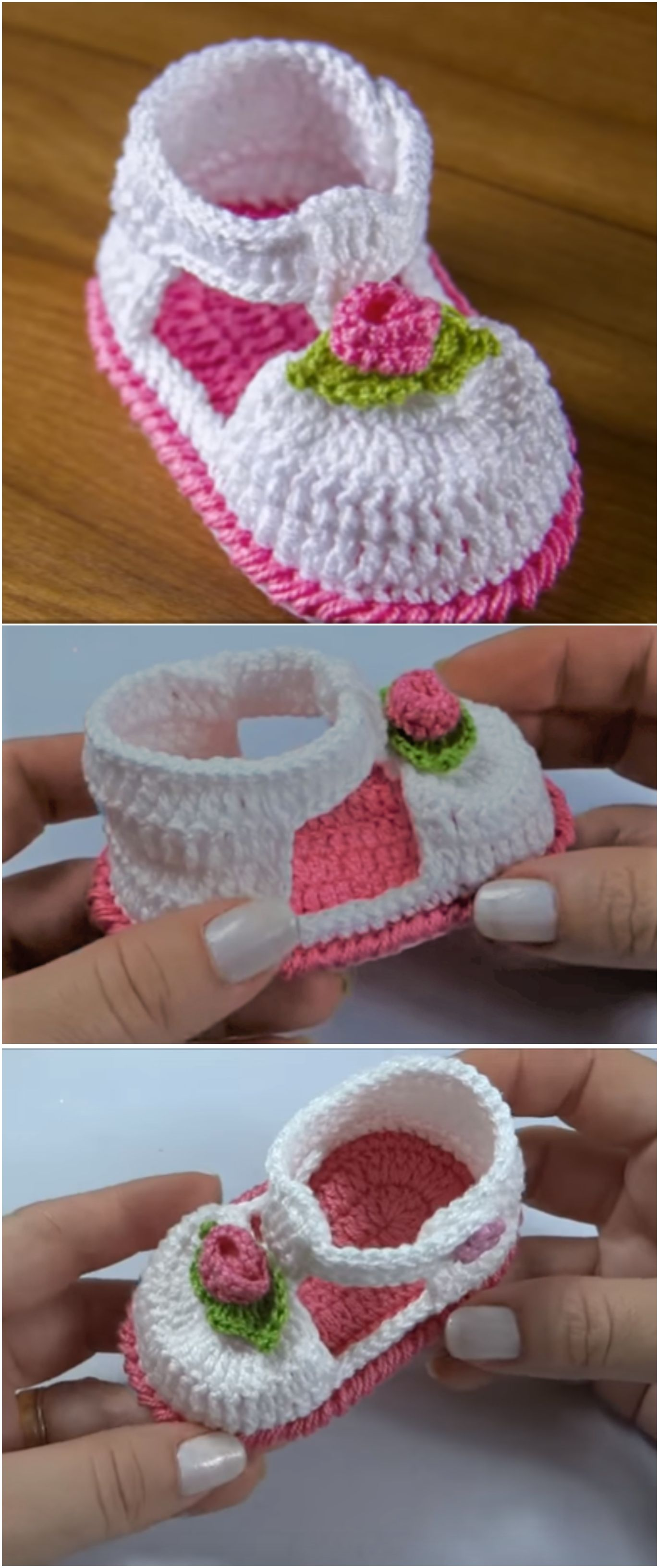 Photo of Crochet Baby Girl Sandals – We Love Crochet
