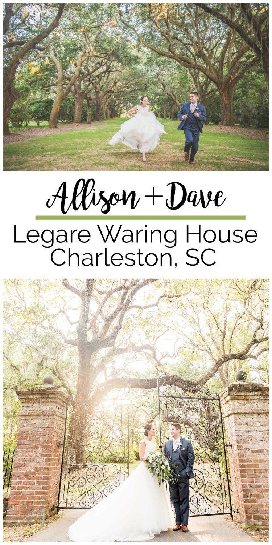 Allison + Dave Destination Wedding at the Legare Waring House