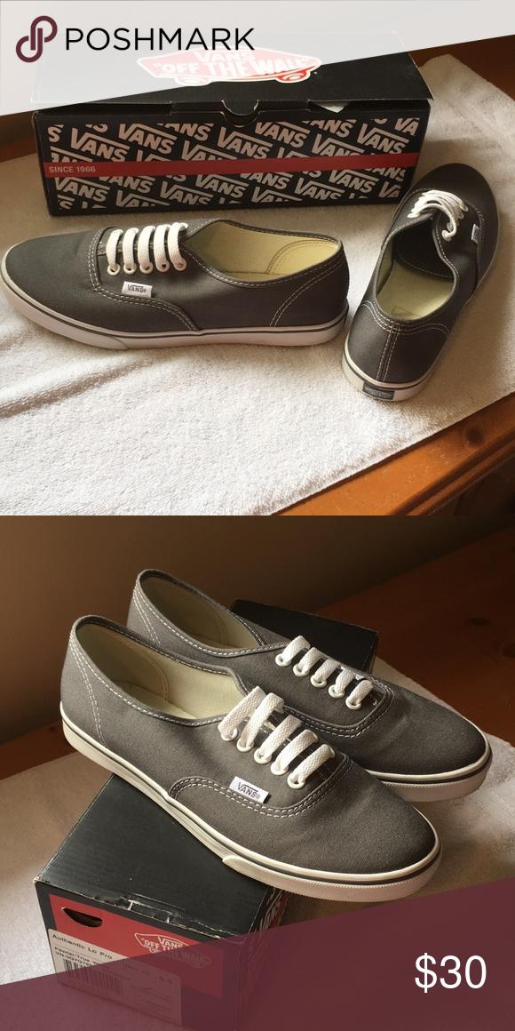 24009338d8a Vans Classic Authentic Lo Pro sneakers Pewter true white authentic lo pro  sneakers. Low