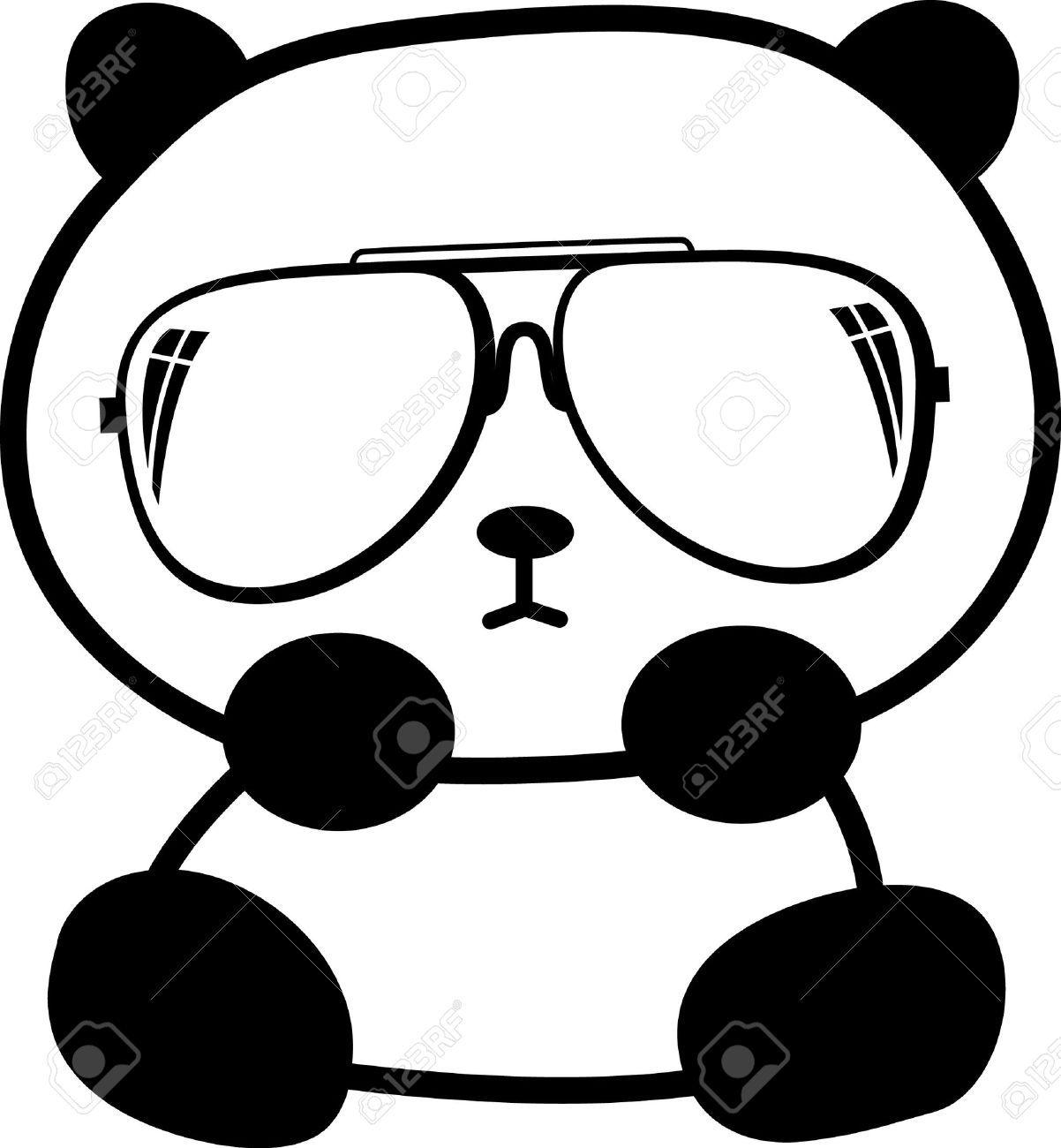 Little Panda Drawing Pandas Cute