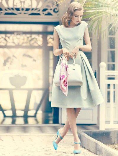 Retro Dress Tumblr Fashion Style 1950s Fashion