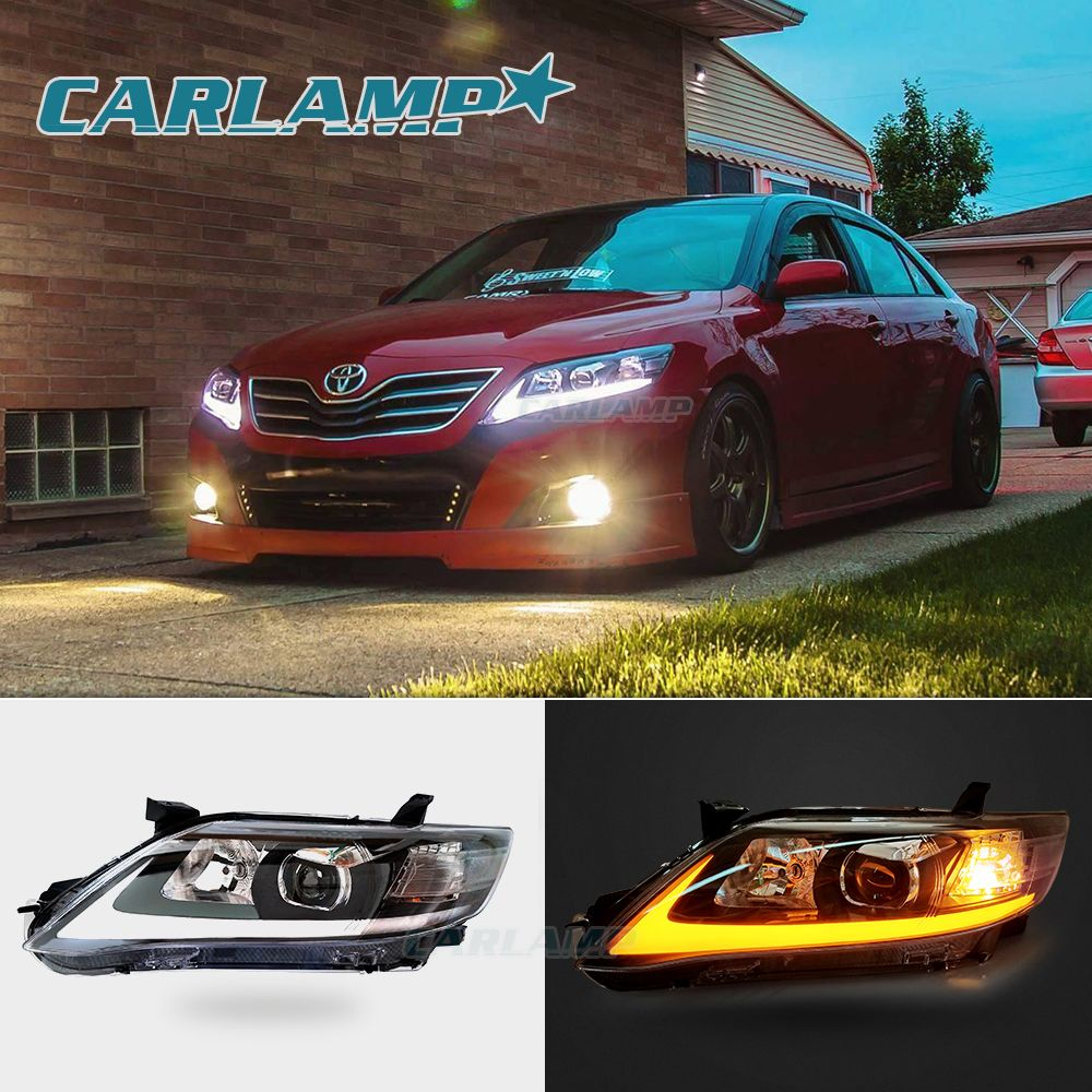Led Headlights Assembly For Toyota Camry 2007 2011 Asian Usa Version Camry Toyota Vland Camry 2007 Camry Camry 2010