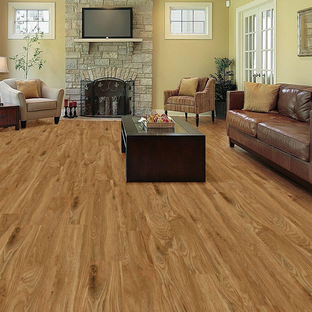 Flooring Home Depot Plank: $1230.TrafficMASTER Allure 6 In. X 36 In. Chatham Oak