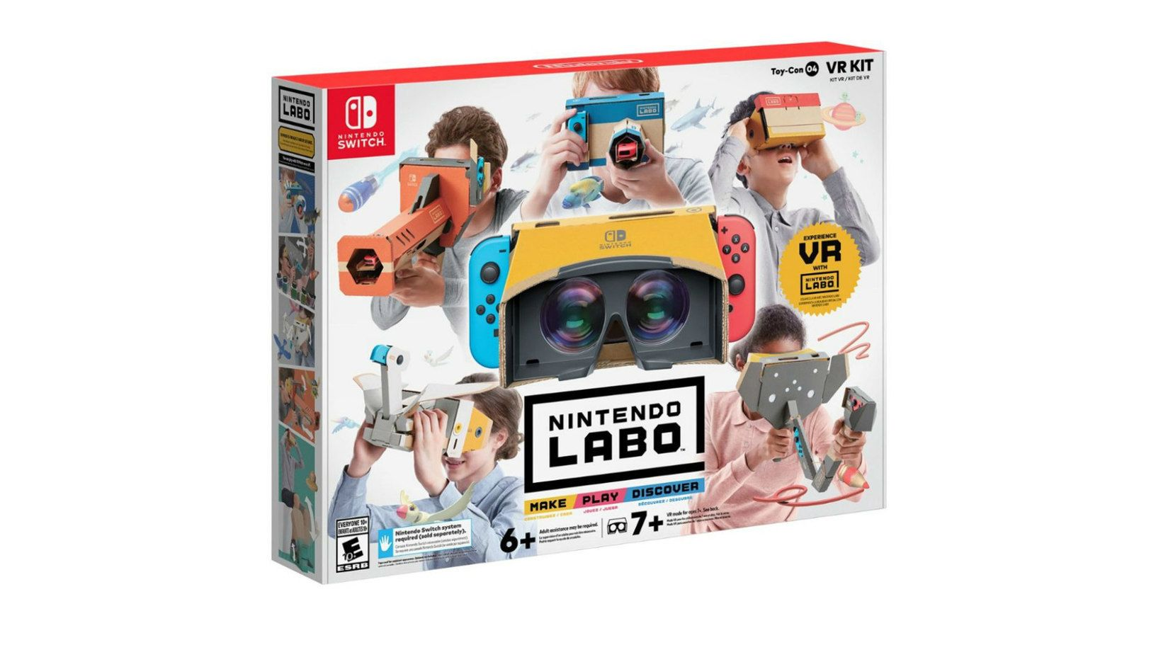 Nintendo's Labo VR Kit Sells Out at Major Online Retailers