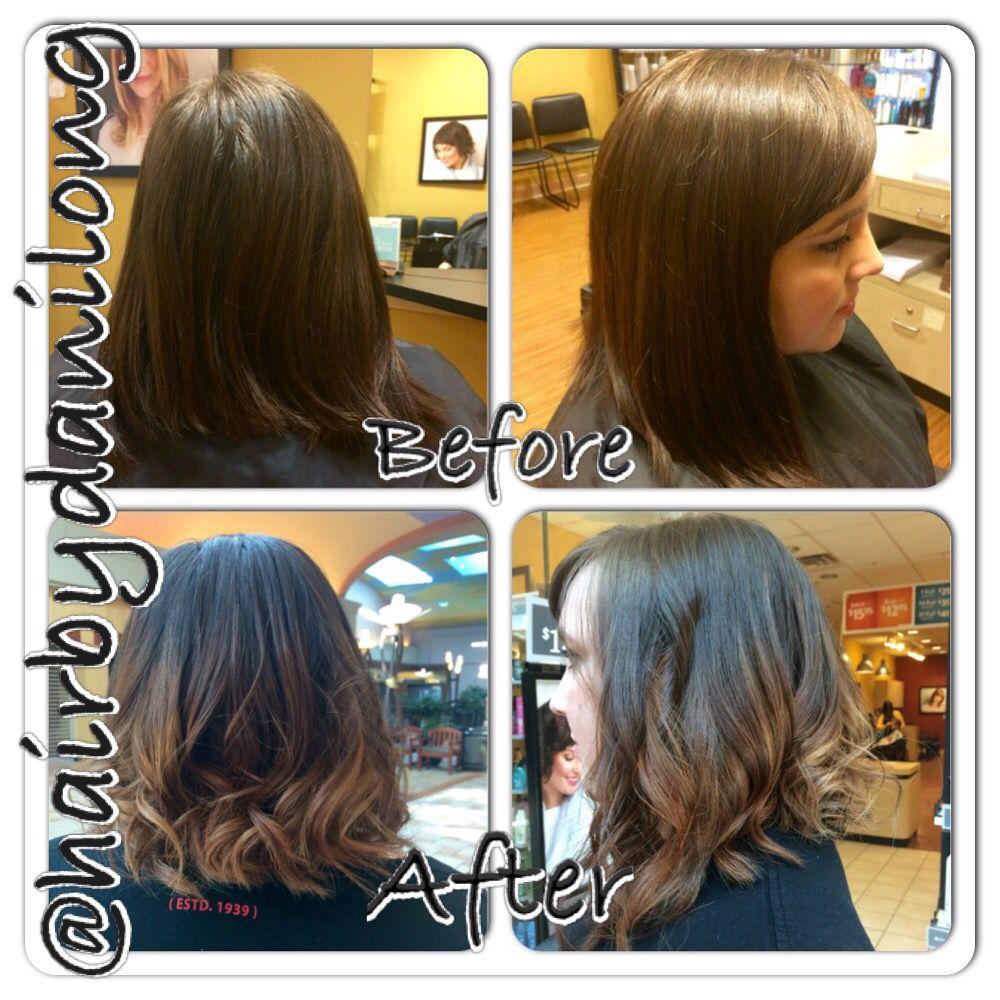 Caramel Ombre Balayage Hair Color Long Bob Haircut Lob Orem Ut Long Hair Color Long Bob Haircuts Balayage Hair