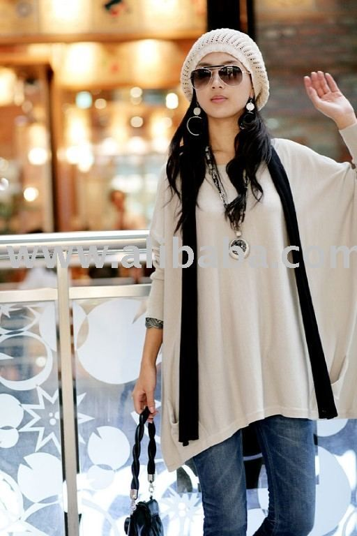 Japan Korean Women Fashion Clothing Wholesale Large Top - Buy ...