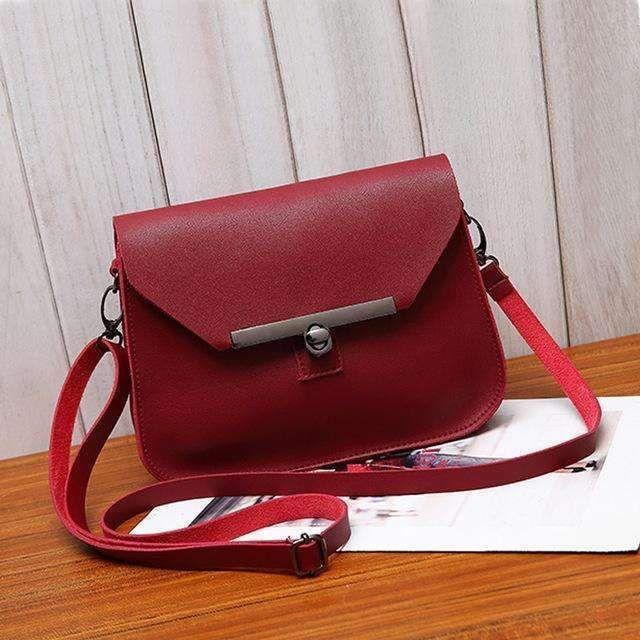 b8405885bb6f Ukqling Small Women Messenger Bags Flap Handbag Soft Pu Women Bag Lady Pu  Leather Purse Cheap Crossbody Bags For Girls 5 Colors