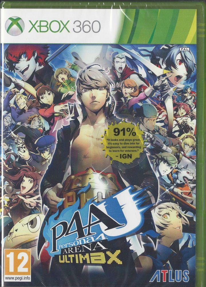 Xbox 360 Persona 4 Arena: Ultimax TOUT NEUF | xbox 360 games