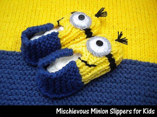 chaussons+minion   Pantoufles   Pinterest