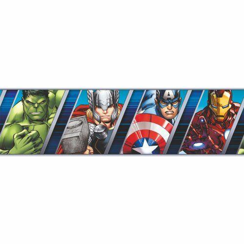 Marvel Jennifer Matte Peel & Stick Wallpaper Border