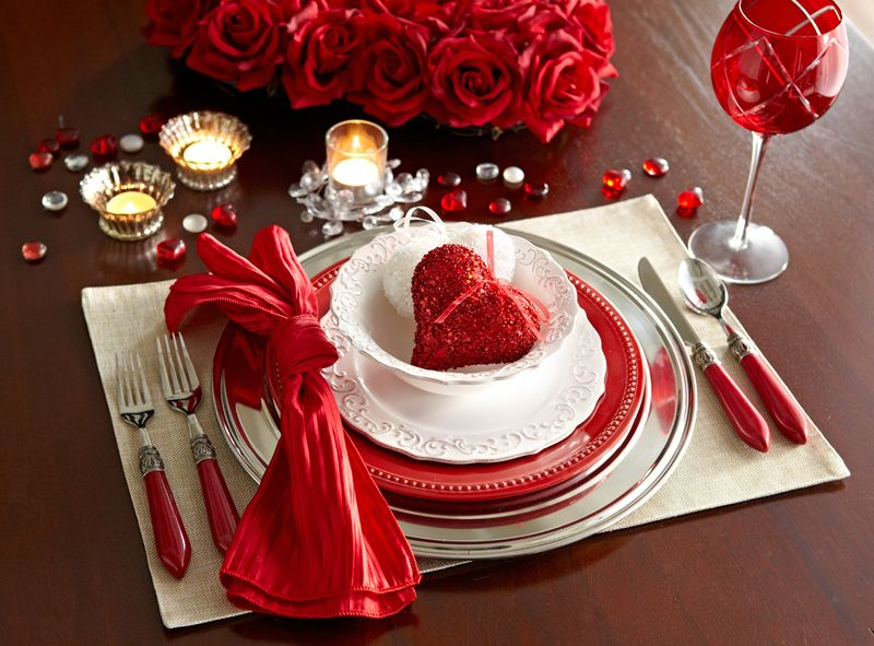 Be More Romantic Mesas De Cena Romanticas Decoraciones Del Dia De San Valentin Poner La Mesa