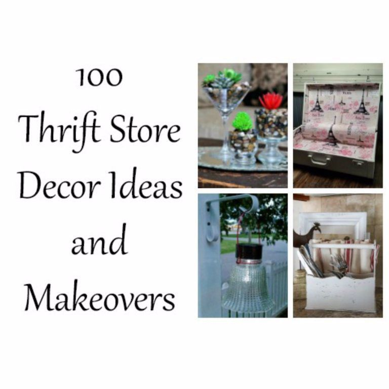 Thrift Store Decor Ideas