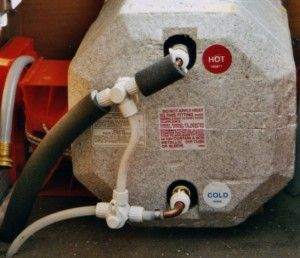 Rv Hot Water Heater Bypass Valve And Drain Valve Hot Water Heater Water Heater Repair Rv Water Heater