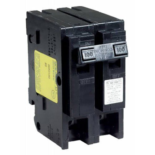 Square D By Schneider Electric Hom2125cp Homeline 125 Amp Two Pole Circuit Breaker Review Electrical Breakers Circuit Breakers