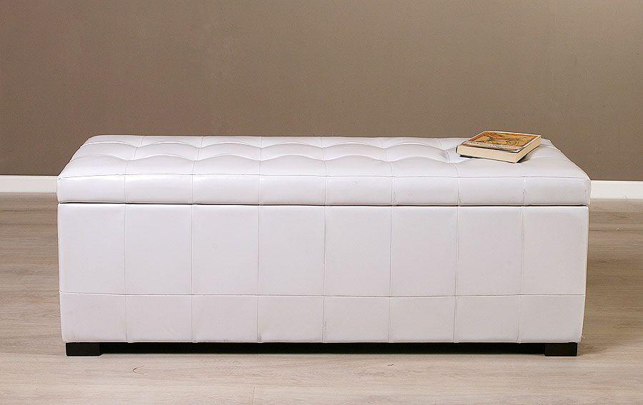 Baul tapa blanco ohio en tu tienda de muebles online some ideas house - Muebles tapa tapa ...