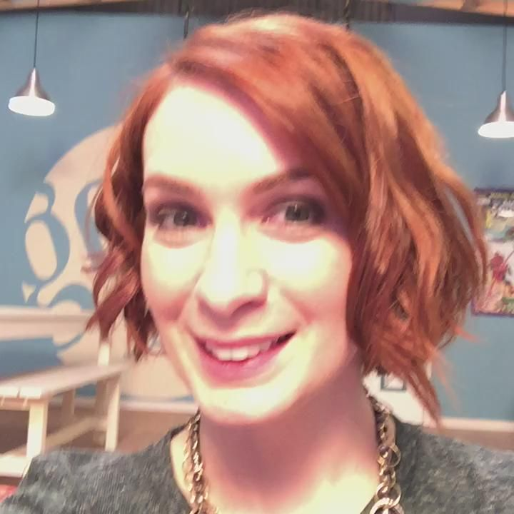 Felicia Day's new and awesome hair