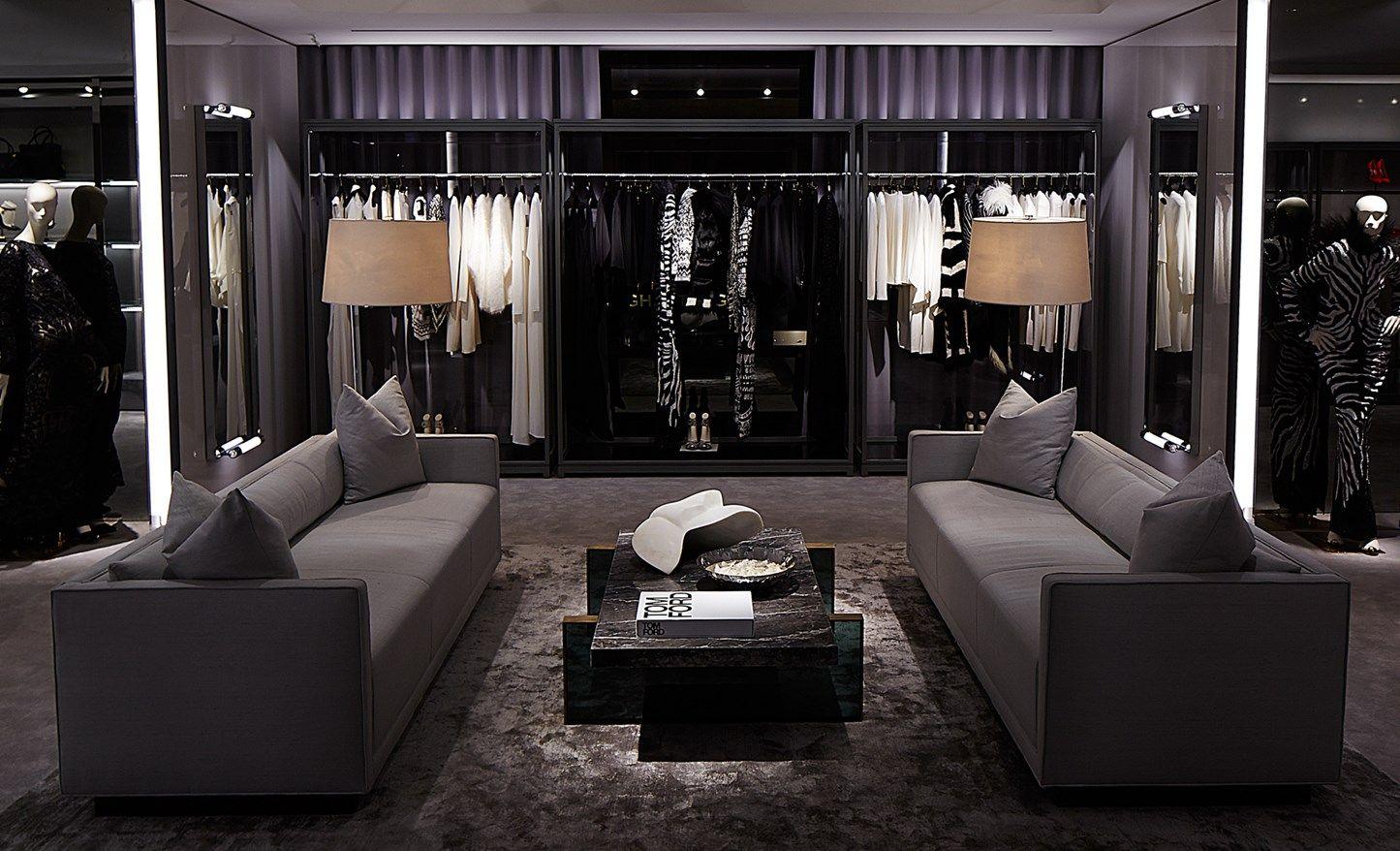 Tom Ford Retail Interiors