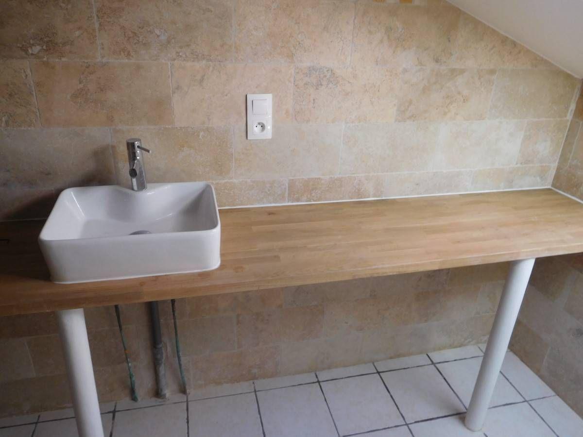 Travertin Mix Beige pour sols et murs pour salle de bain et ...