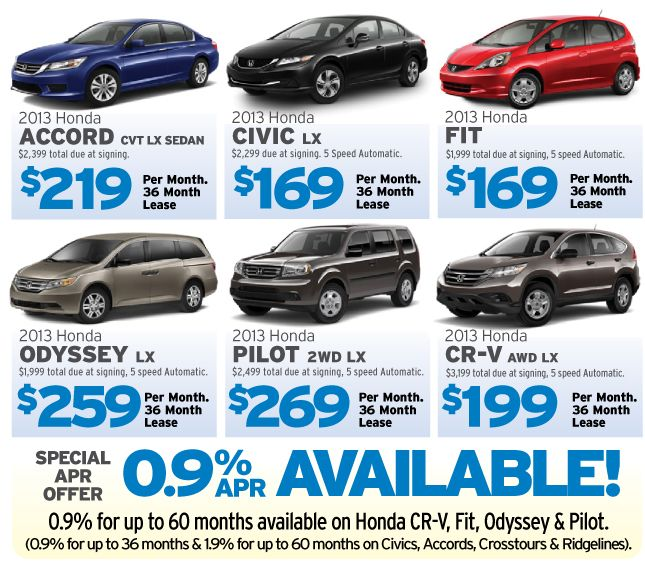 Check Out Leasing And APR Specials From Milton Martin Honda! Http://www