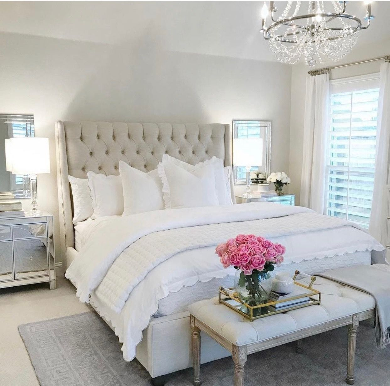 My next bedroom #thedecordiet #romance  Classy bedroom, Small