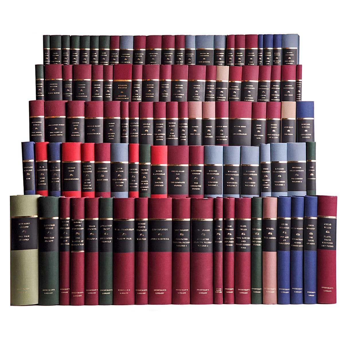100 Book Literary Classics Library 100 Book Library Classic Books