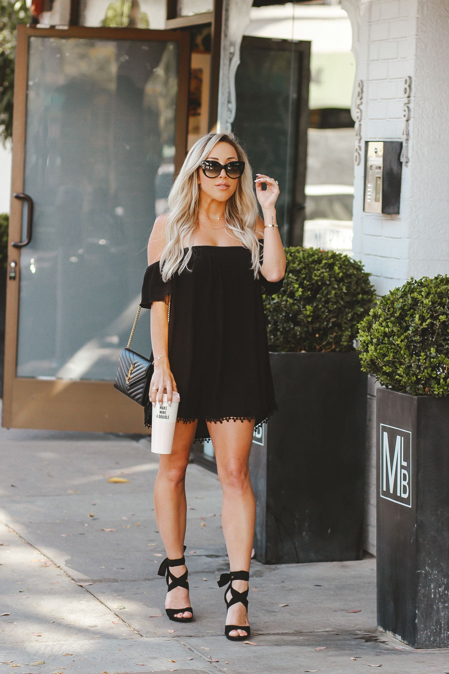 a0a8ca45185 Cutest Black Ensemble for Summer