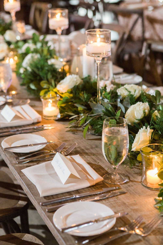 Wedding Ideas No Tablecloths On Reception Tables Inside Weddings In 2020 Farm Table Wedding Long Table Wedding Farm Table Decor