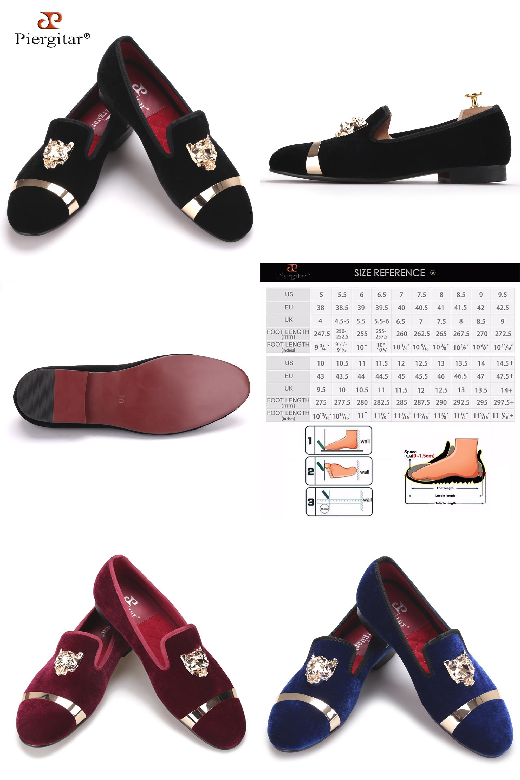 bd0a71636 [Visit to Buy] New fashion men party and wedding handmade loafers men  velvet shoes with tiger and gold buckle men dress shoe men's flats  #Advertisement
