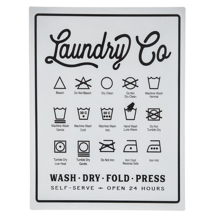 Laundry Symbols Metal Sign Hobby Lobby 1699024 In 2020