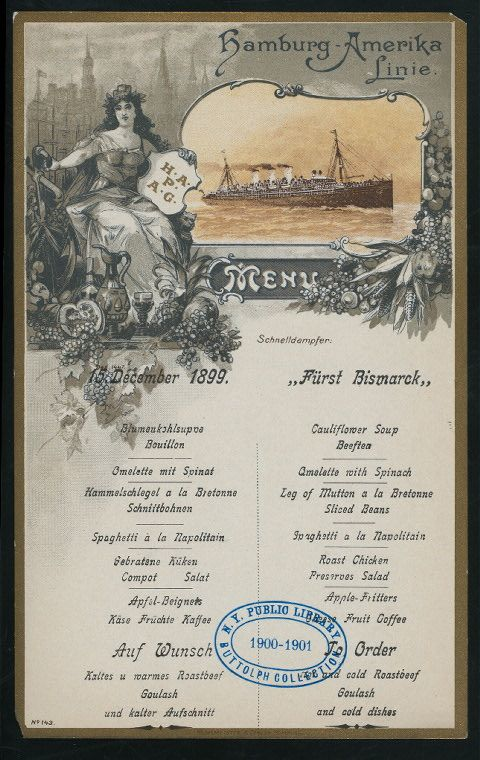 One Of Hundreds Of Thousands Of Free Digital Items From The New York Public Library Vintage Menu Menu Cards Menu Restaurant