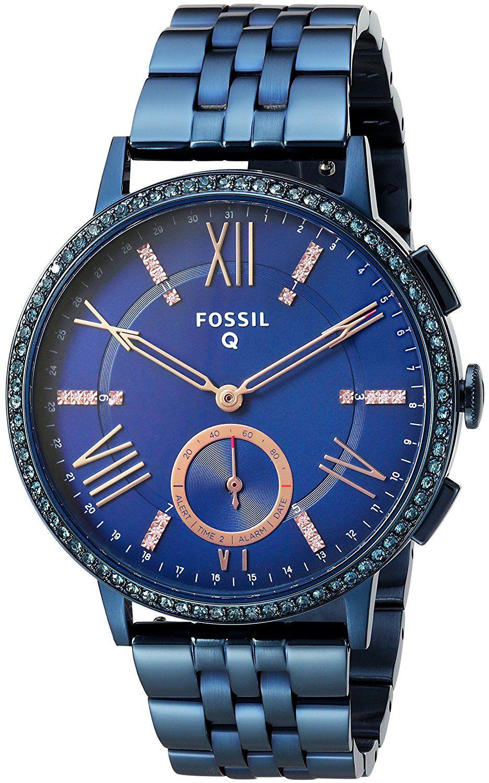 Fossil Q Hybrid Smartwatch Women's Gazer Ocean Blue