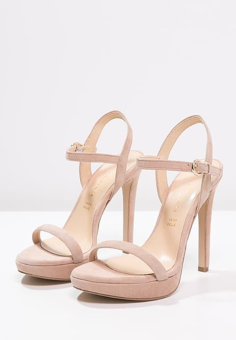 fa537e0d Diese Sandaletten kannst du nach Herzenslust kombinieren. Mai Piu Senza  High Heel Sandaletten - nude