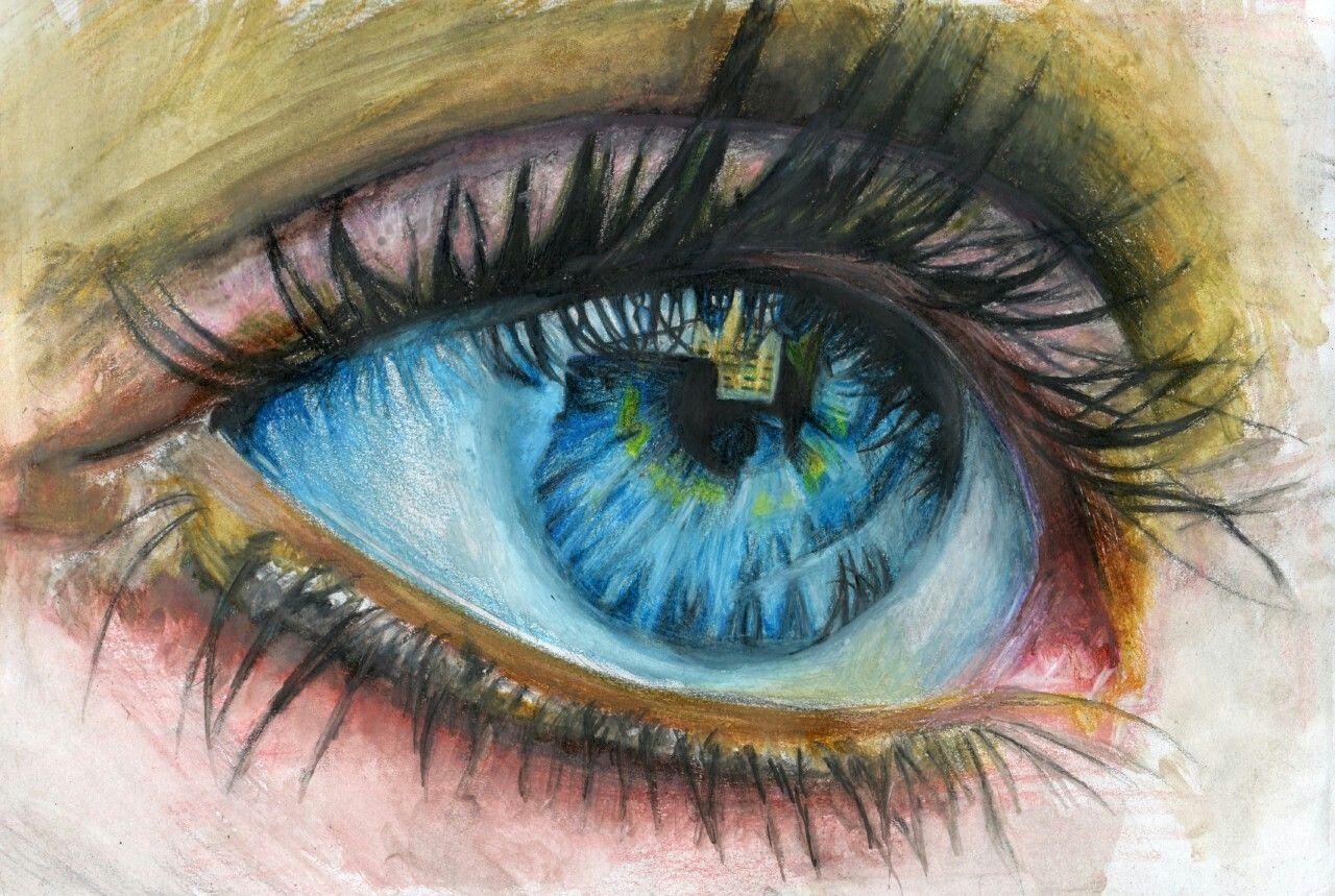 Днем, классные картинки глаз